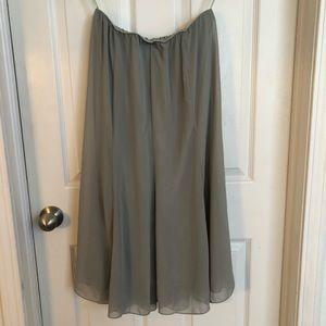 Pale green vintage skirt